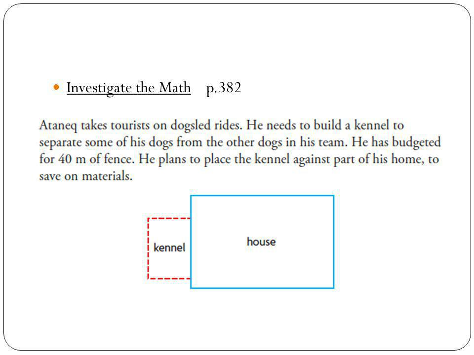 Investigate the Math p.382