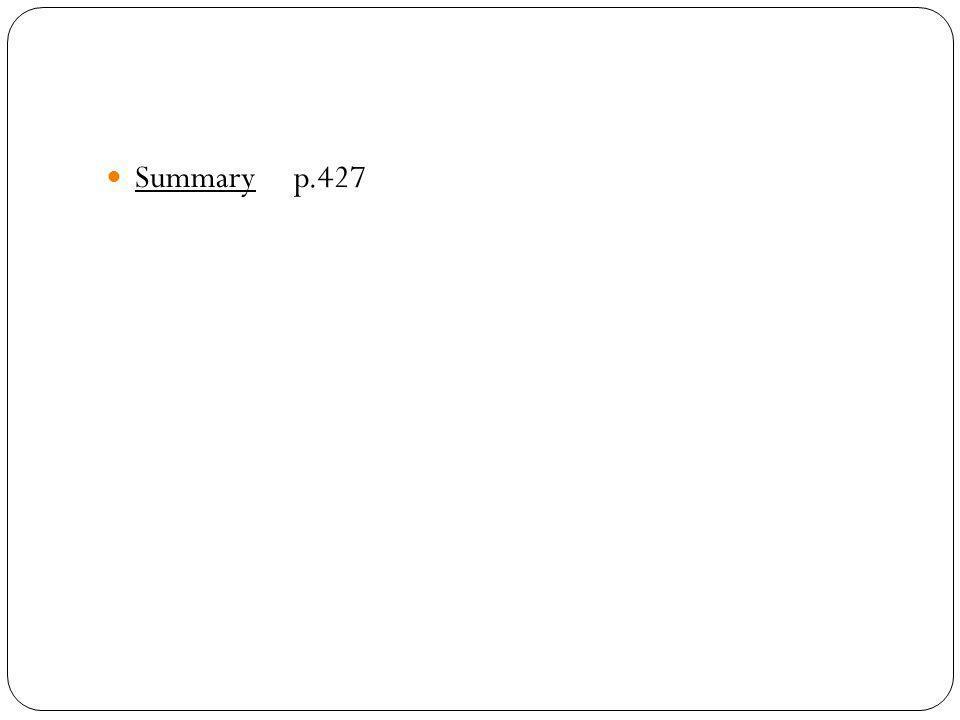 Summary p.427