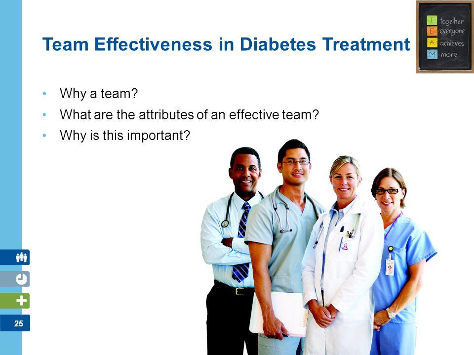 Team Effectiveness in Diabetes Treatment