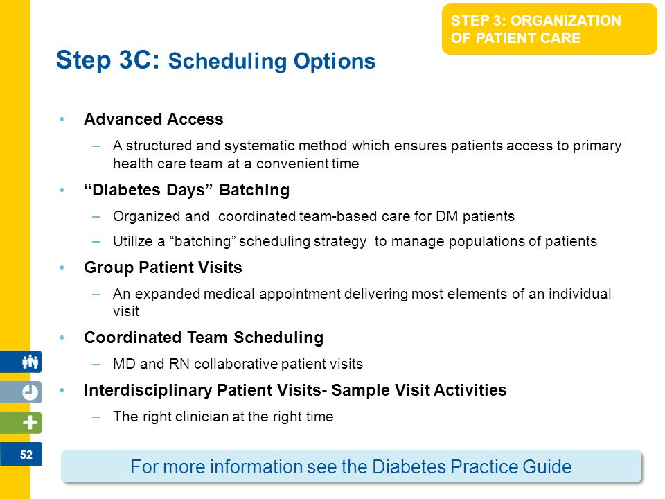 Step 3C: Scheduling Options