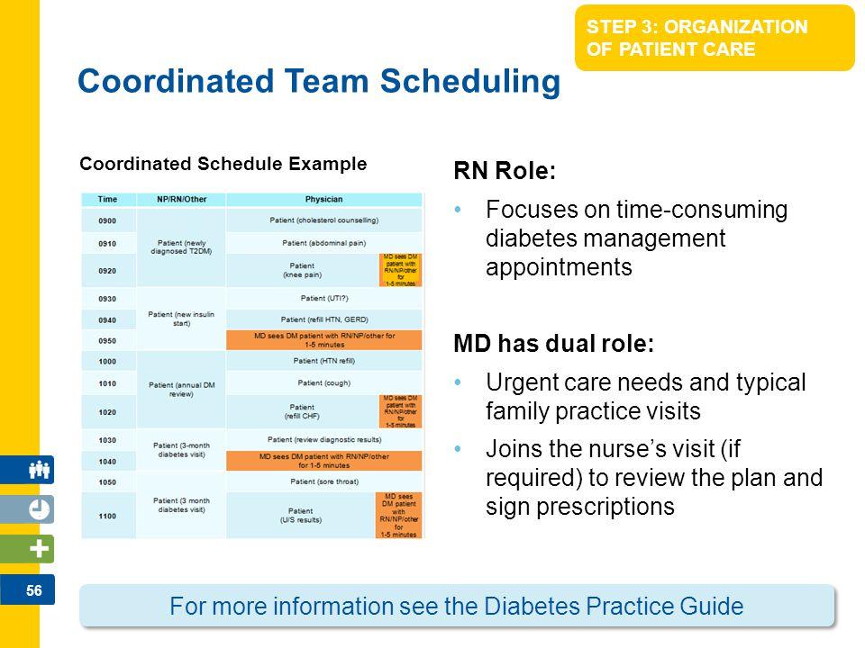 Coordinated Team Scheduling