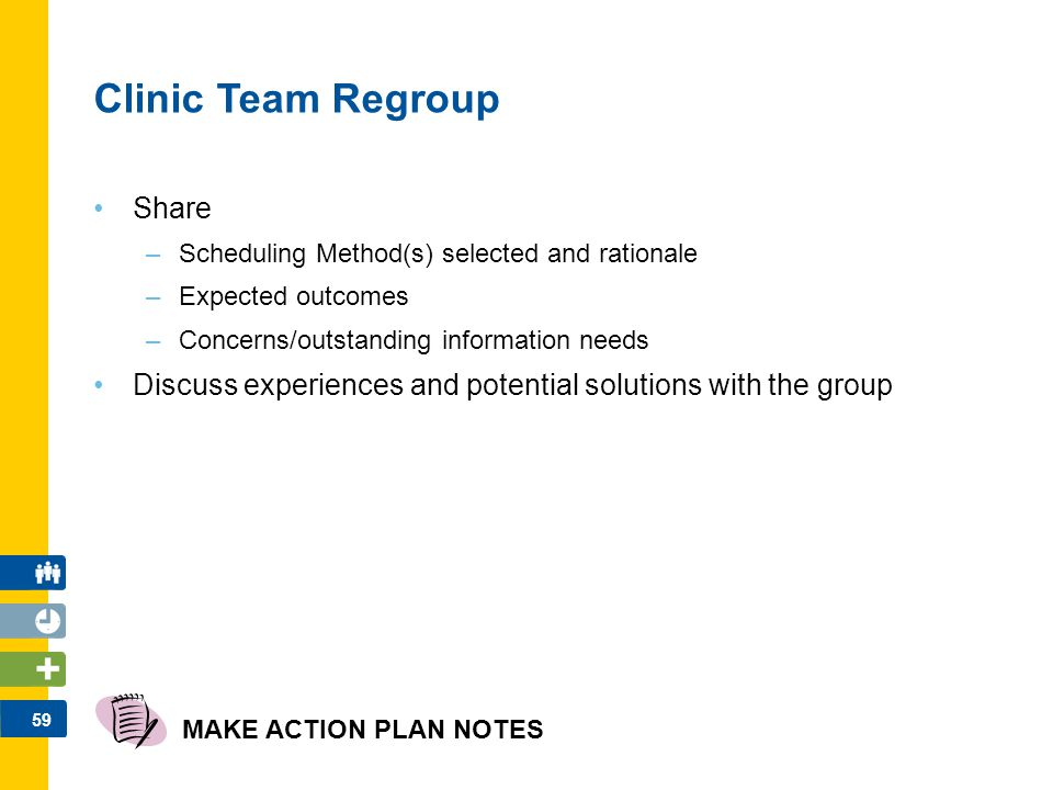 Clinic Team Regroup Share