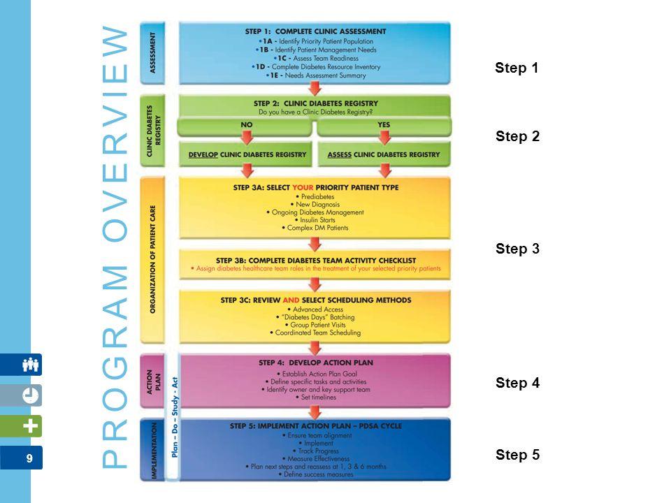 PROGRAM OVERVIEW Step 1 Step 2 Step 3 Step 4 Step 5 FACILITATOR NOTES: