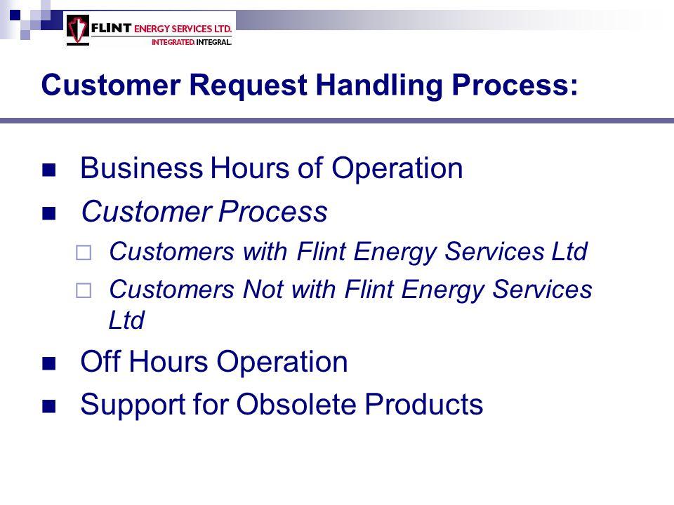 Customer Request Handling Process: