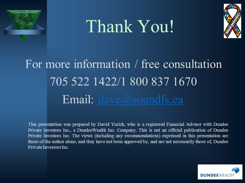 For more information / free consultation