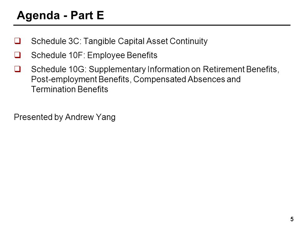 Agenda - Part F Note 1: Significant accounting policies
