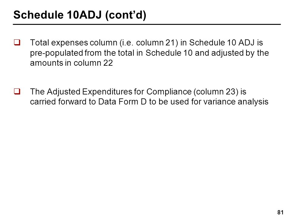 Data Form D