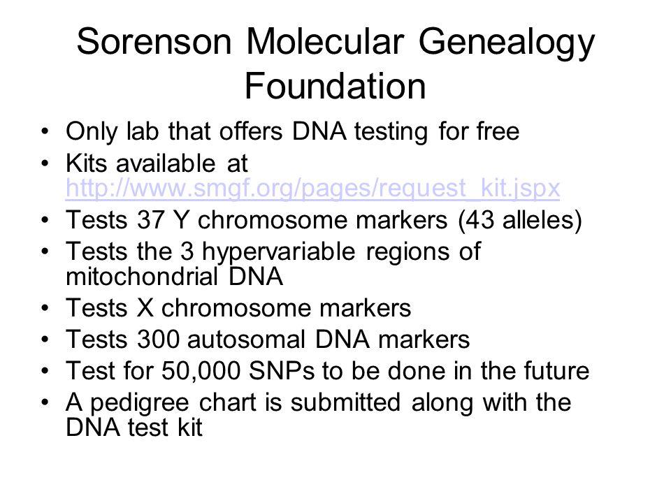 Sorenson Molecular Genealogy Foundation