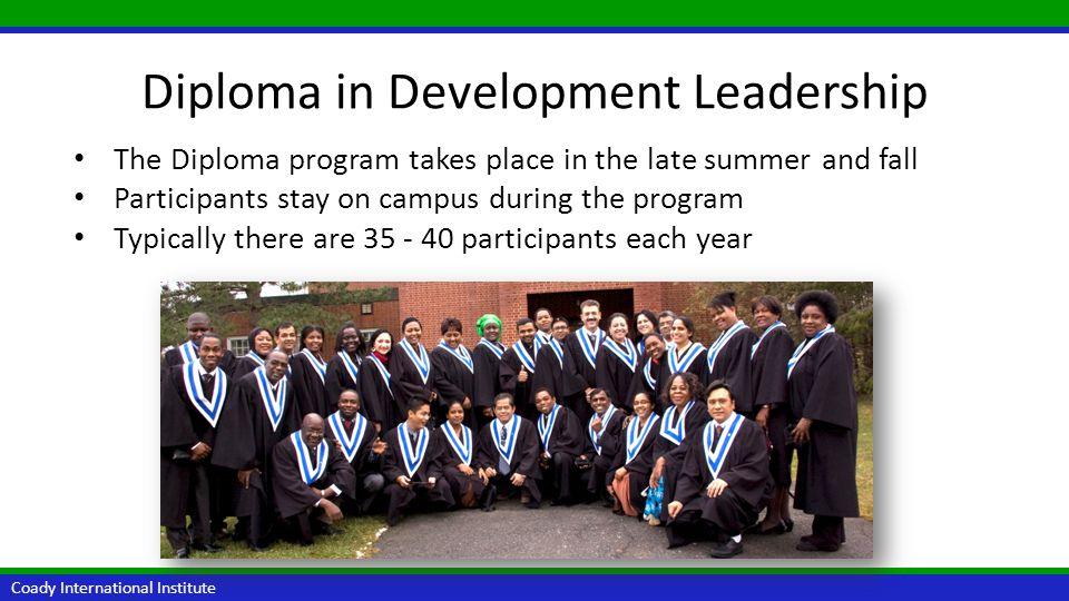 Diploma in Development Leadership