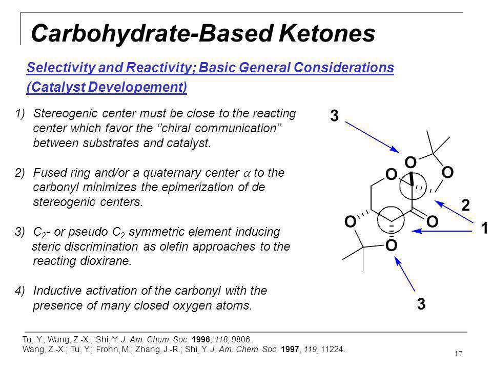 Carbohydrate-Based Ketones