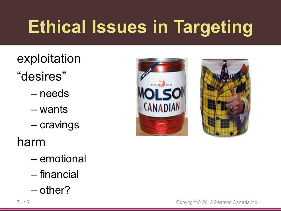 Ethical Issues in Targeting