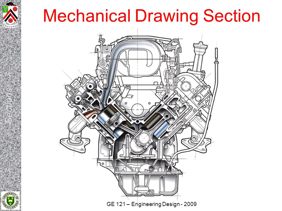 Mechanical Drawing Section