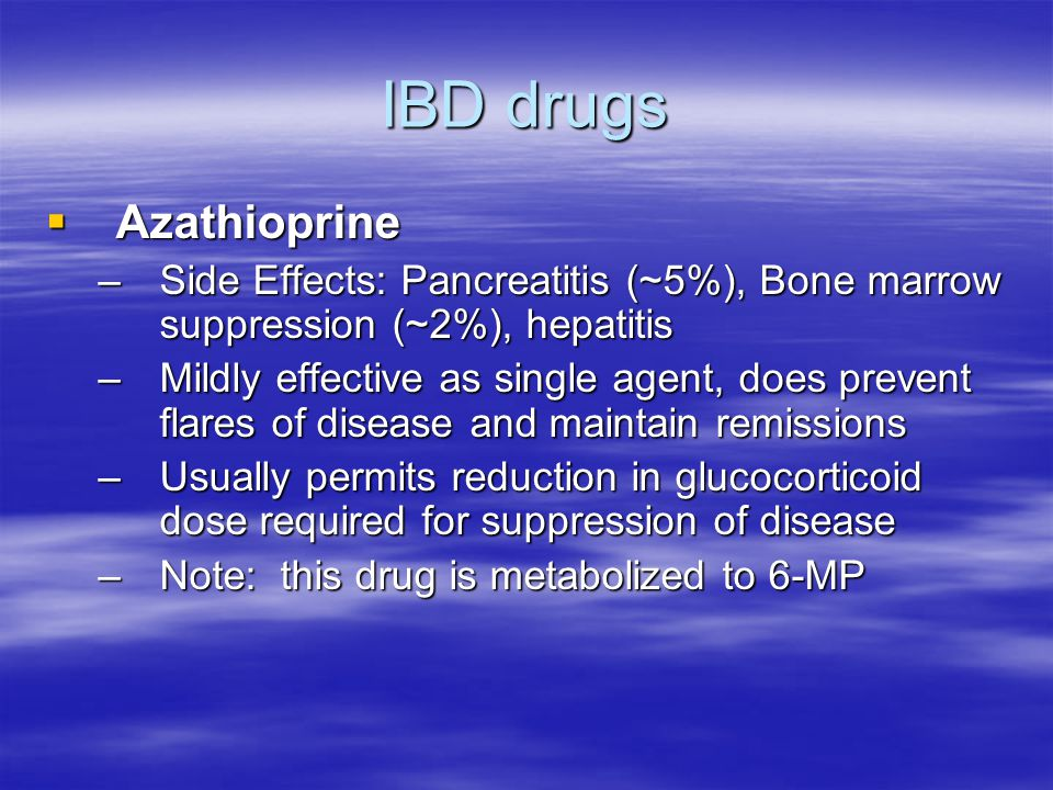 IBD drugs Azathioprine