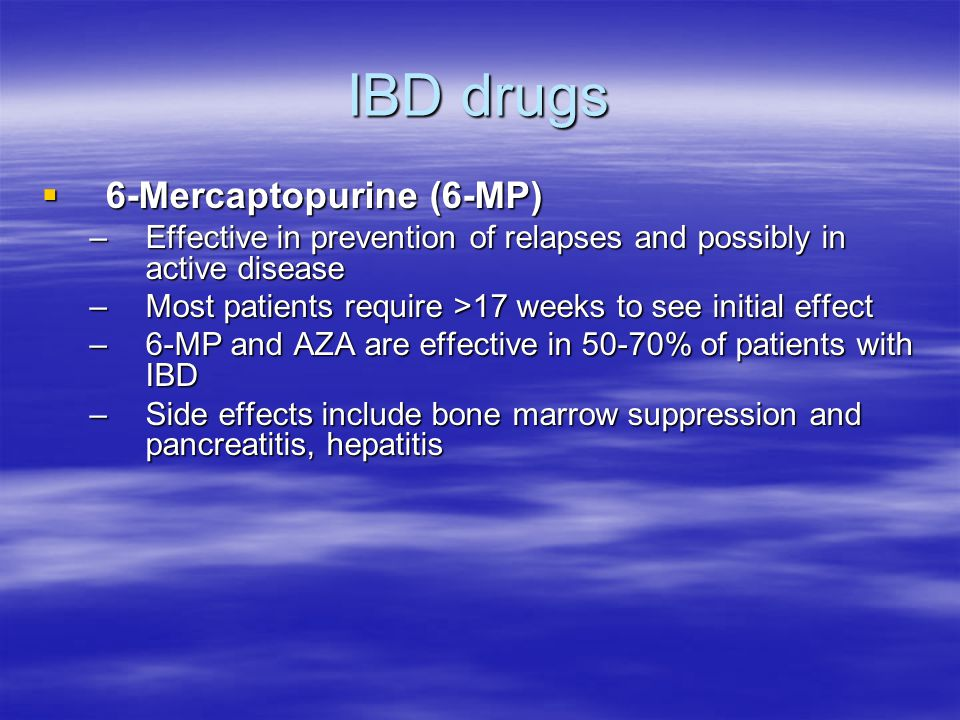 IBD drugs 6-Mercaptopurine (6-MP)