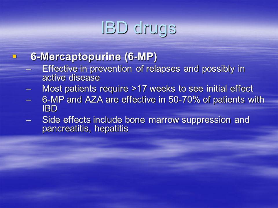 IBD drugs 6-Mercaptopurine (6-MP)