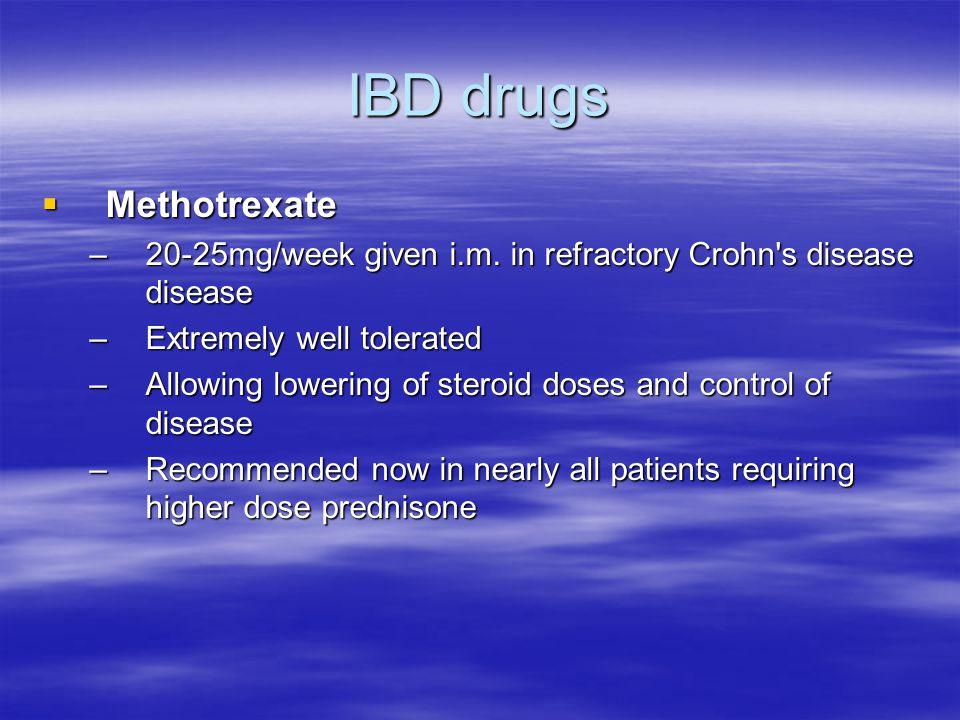IBD drugs Methotrexate