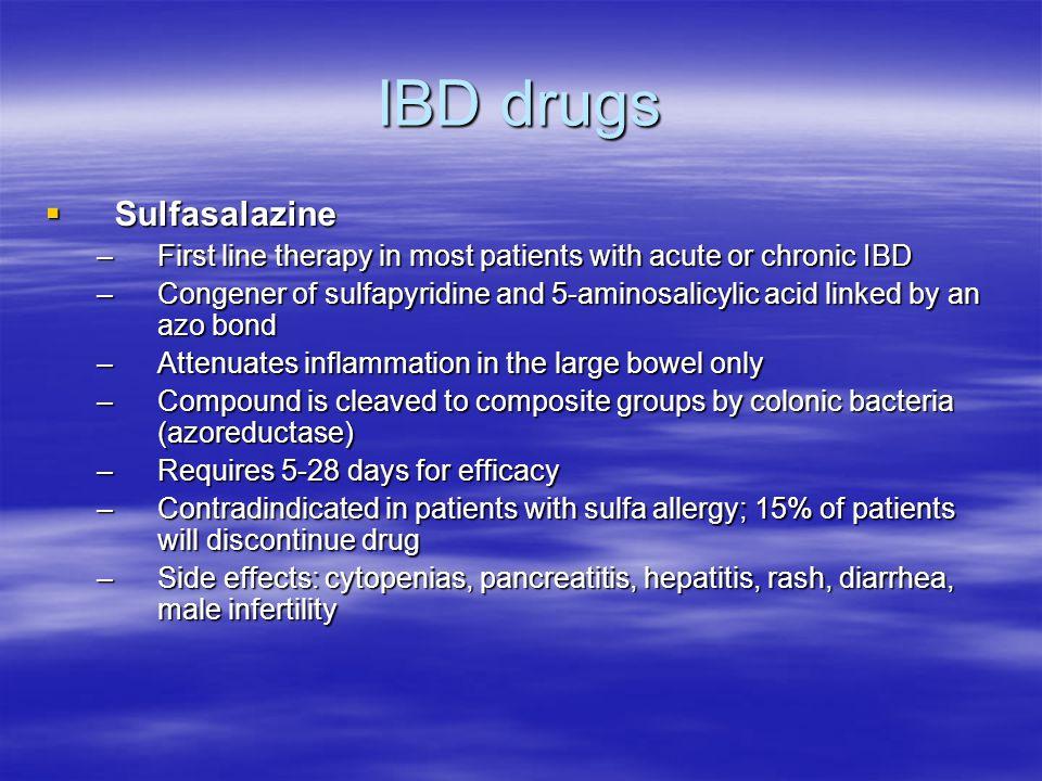 IBD drugs Sulfasalazine