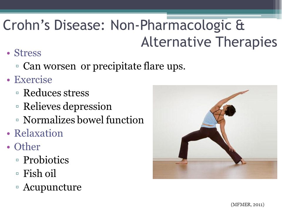 Crohn's Disease: Non-Pharmacologic & Alternative Therapies