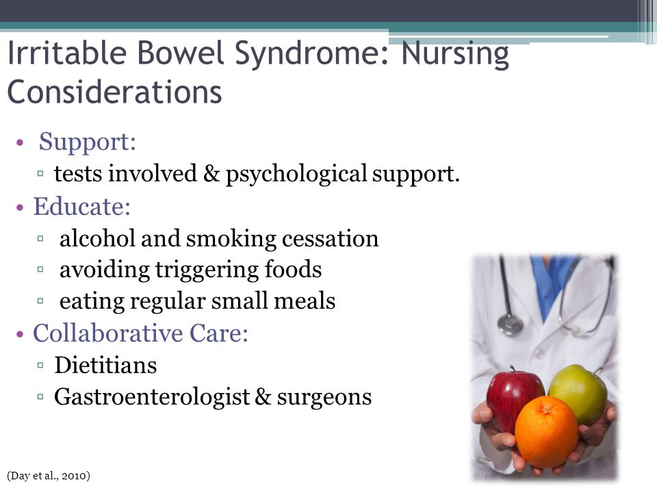 Irritable Bowel Syndrome: Nursing Considerations