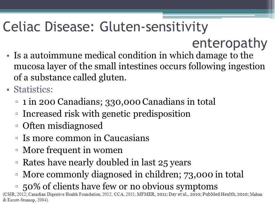 Celiac Disease: Gluten-sensitivity enteropathy