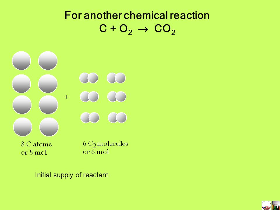 For another chemical reaction