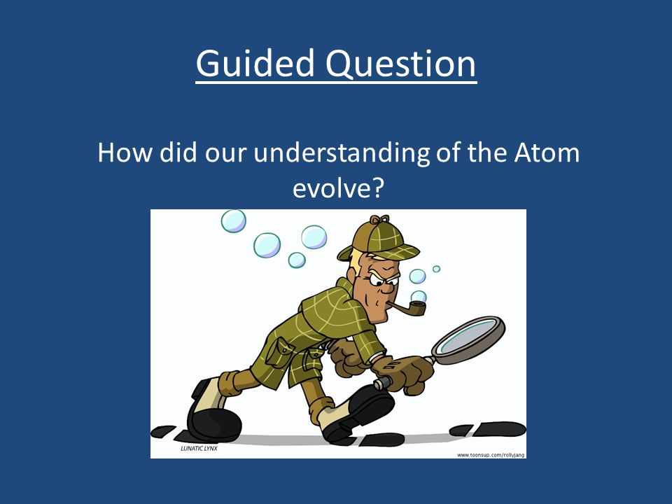 How did our understanding of the Atom evolve