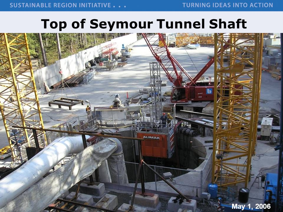 Top of Seymour Tunnel Shaft
