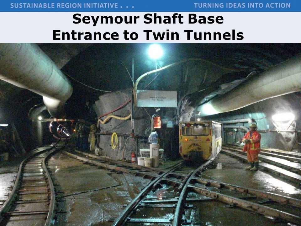 Seymour Shaft Base Entrance to Twin Tunnels
