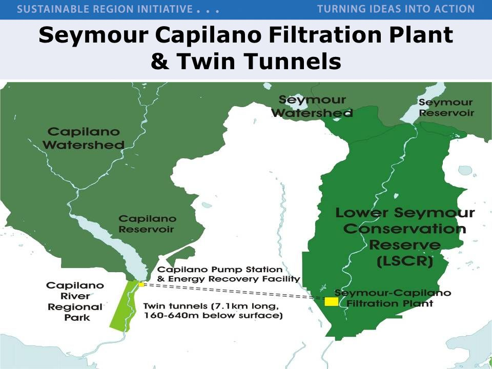 Seymour Capilano Filtration Plant & Twin Tunnels