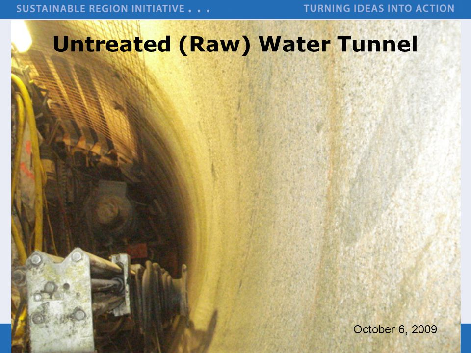 Untreated (Raw) Water Tunnel