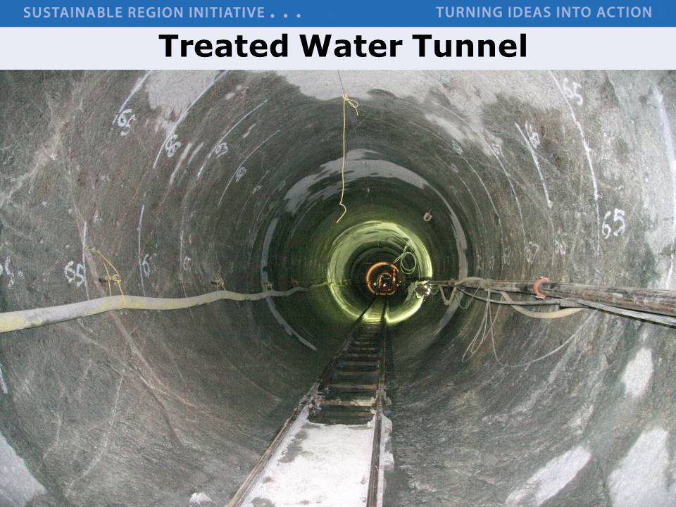 Treated Water Tunnel