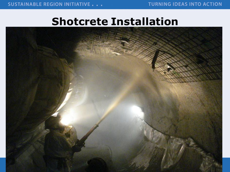 Shotcrete Installation