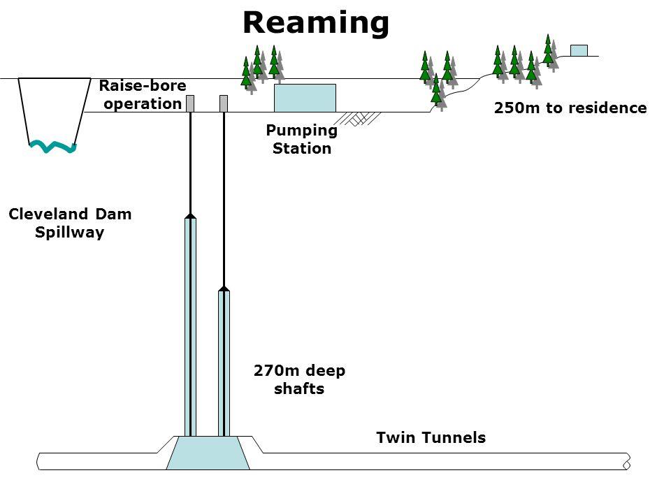 Cleveland Dam Spillway
