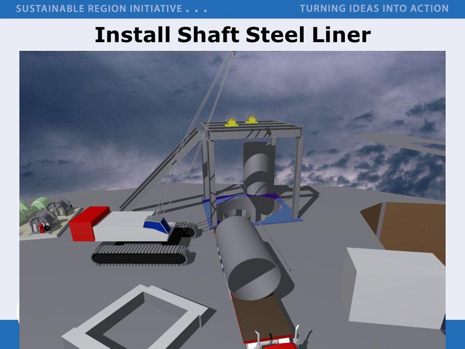 Install Shaft Steel Liner