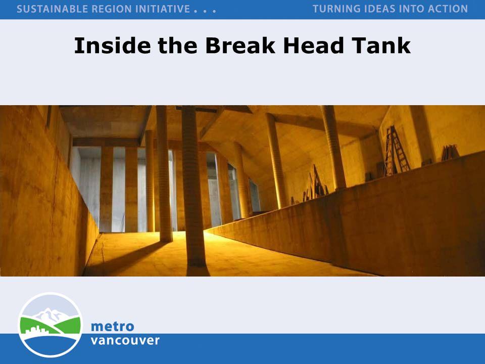 Inside the Break Head Tank
