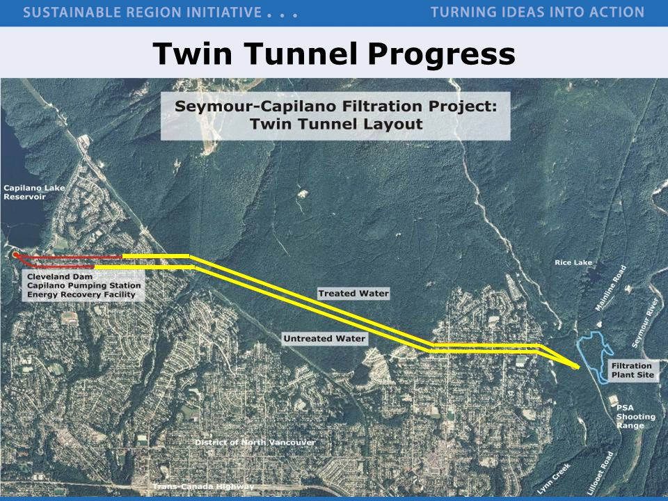 Twin Tunnel Progress