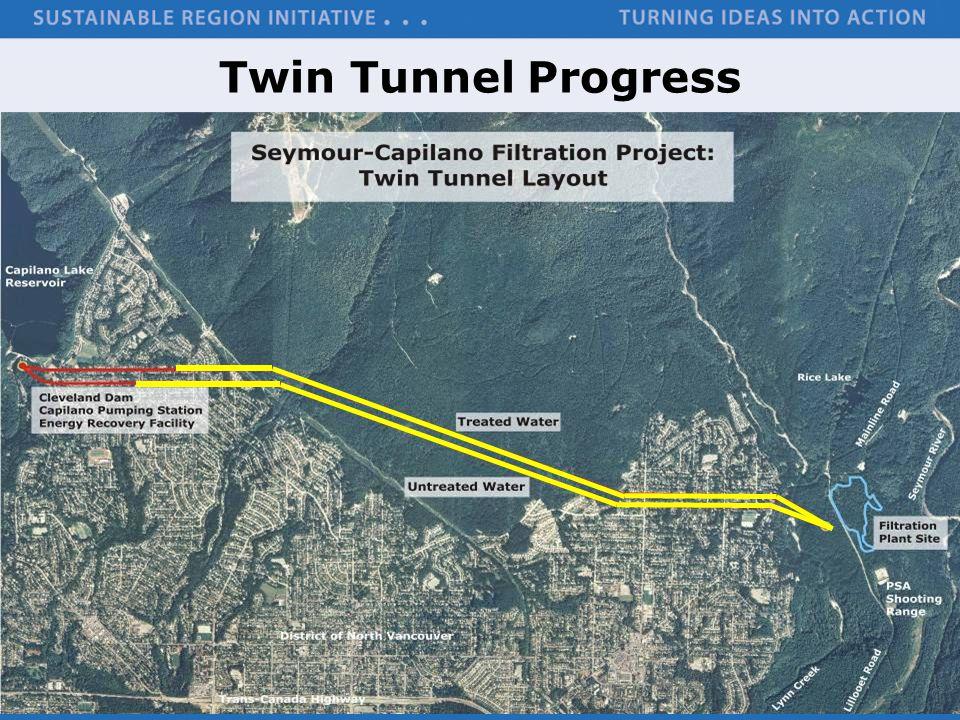 Twin Tunnel Progress