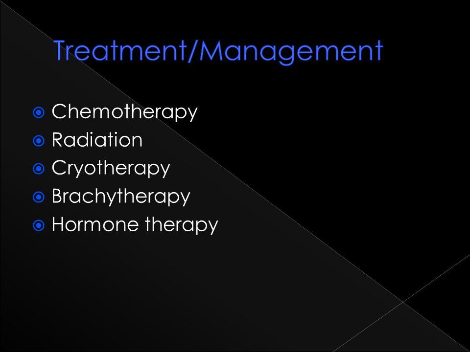 Treatment/Management