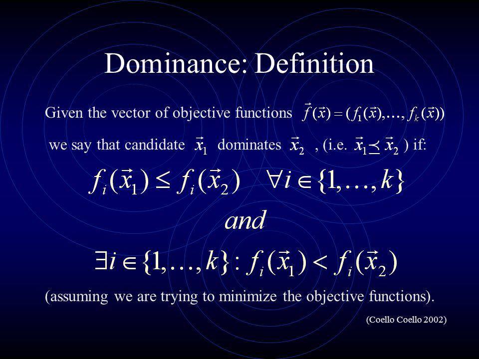 Dominance: Definition