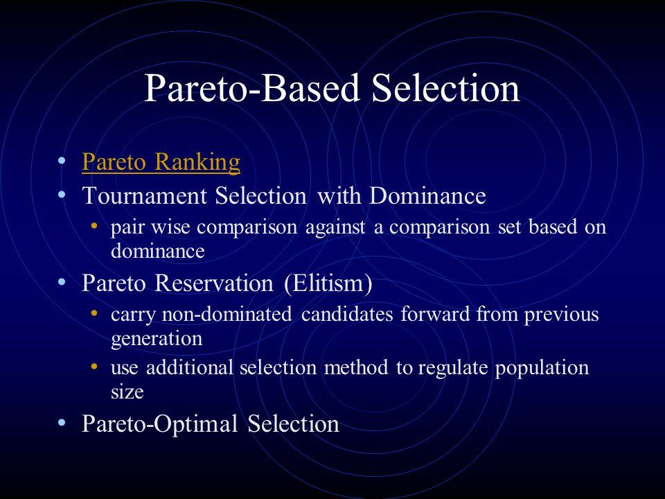 Pareto-Based Selection