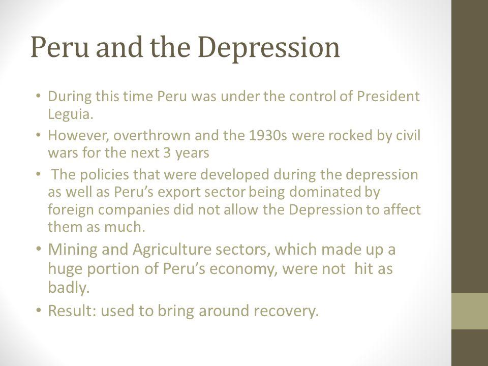 Peru and the Depression