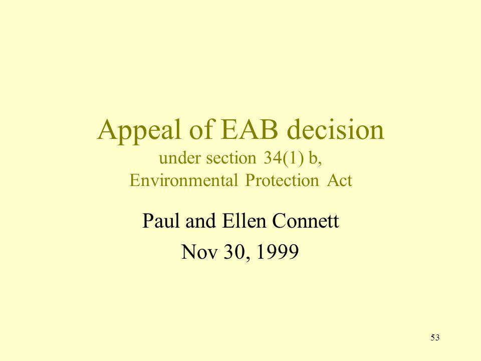 Paul and Ellen Connett Nov 30, 1999