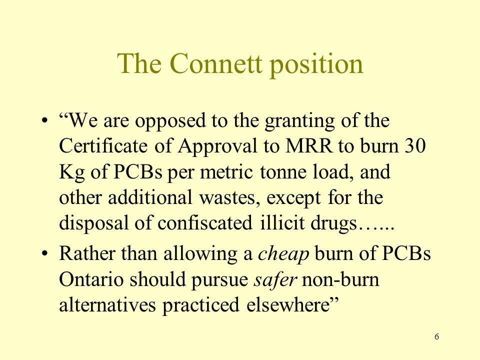 The Connett position