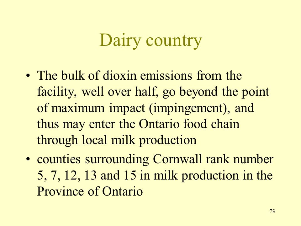 Dairy country