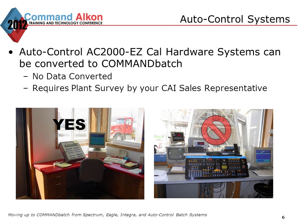 YES Auto-Control Systems