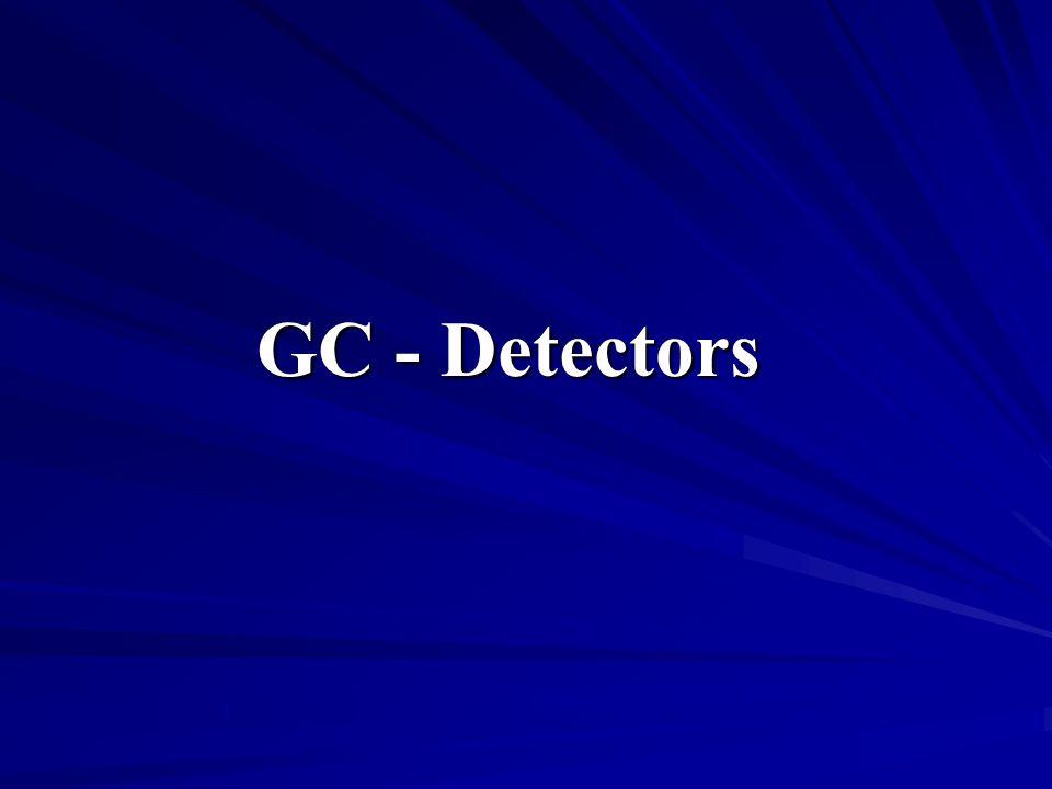 GC - Detectors