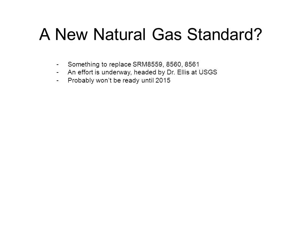 A New Natural Gas Standard