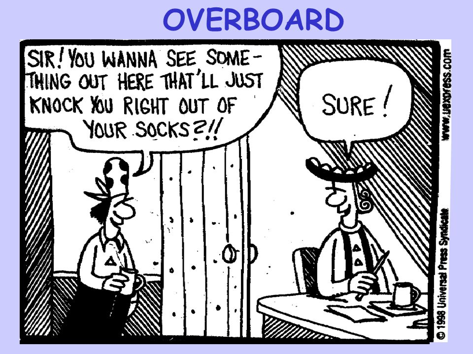 OVERBOARD OVERBOARD