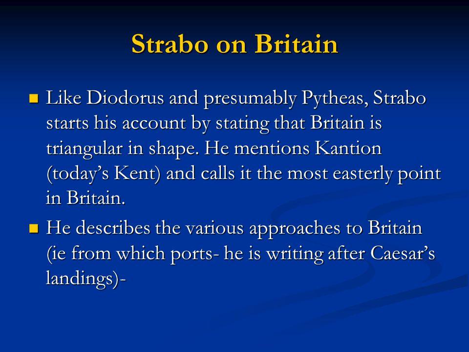 Strabo on Britain