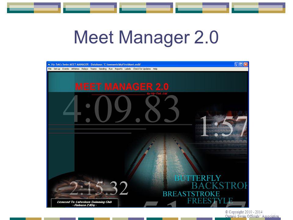 Meet Manager 2.0